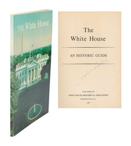 Jacqueline Kennedy Signed White House Guide