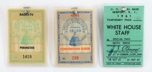 John F. Kennedy-Related Badges