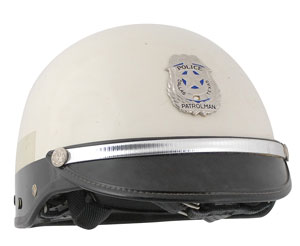 John F. Kennedy: Dallas Officer James M. Chaney's Helmet and Badge