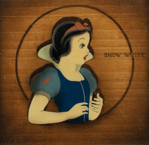 Snow White production cel from Snow White and the Seven Dwarfs