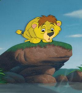 Lambert master background set-up from Lambert the Sheepish Lion