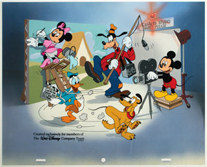 Disney and California Arts serigraph cel from Disneyland