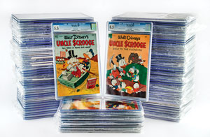 Uncle Scrooge Collection of (95) Comic Books Graded by CGC