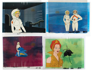 Production cels and drawings from He-Man and the Masters of the Universe