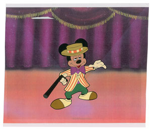 Mickey Mouse production cel from Mickey Mouse Club