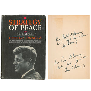 John F. Kennedy Signed Book
