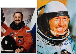 Cosmonauts: Leonov and Usachov