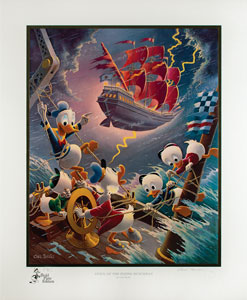 Carl Barks: Afoul of the Flying Dutchman