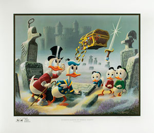 Carl Barks: Dubious Doings at Dismal Downs