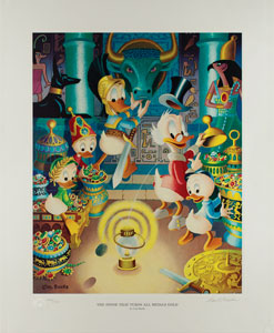 Carl Barks: The Stone That Turns All Metals Gold