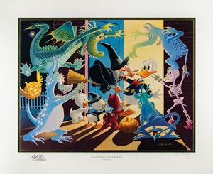 Carl Barks: Halloween in Duckburg