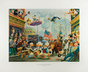 Carl Barks: July Fourth in Duckburg