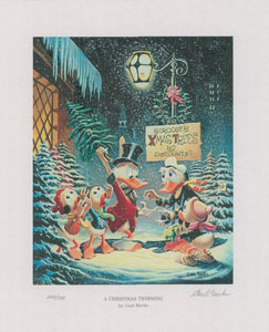 Carl Barks: A Christmas Trimming