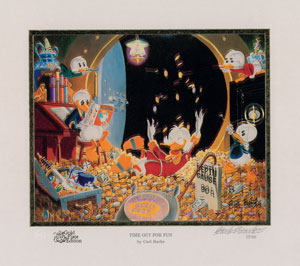 Carl Barks: Time Out for Fun