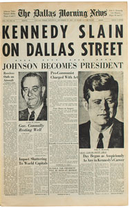 John F. Kennedy 'The Assassination Story' Publication