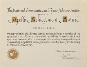Apollo Achievement Award