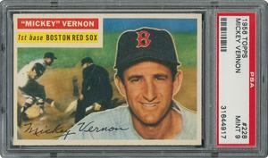 1956 Topps #228 Mickey Vernon - PSA MINT 9