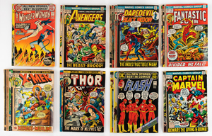 Tony Glover: Vintage Comic Book Collection