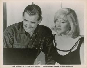 Marilyn Monroe and Clark Gable
