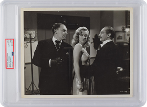 Marilyn Monroe and Groucho Marx