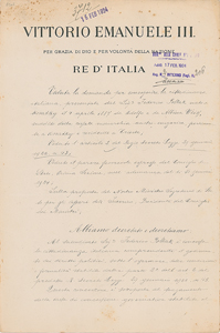 Benito Mussolini and Vittorio Emanuele III