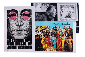 Beatles: Blake and Voormann
