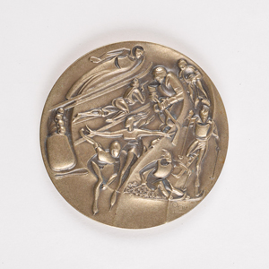 Lake Placid 1980 Winter Olympics Participation Medal