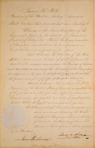 James K. Polk and James Buchanan
