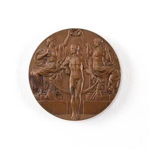 Stockholm 1912 Olympics Bronze Winner's Medal