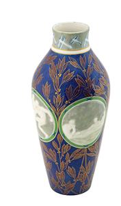 Paris 1924 Summer Olympics Sevres Pate-sur-pate Porcelain Vase