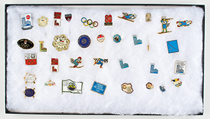 Lake Placid 1980 Winter Olympics Pin Collection