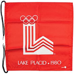 Lake Placid 1980 Winter Olympics Gate Flag