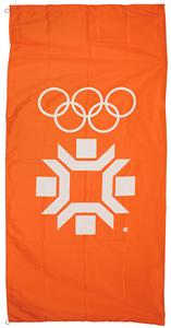 Sarajevo 1984 Winter Olympics Banner Flag