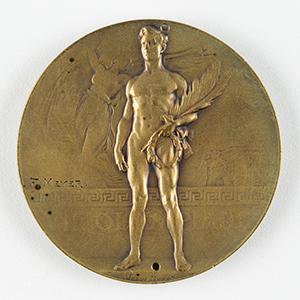 Antwerp 1920 Olympics Bronze Winner's Medal