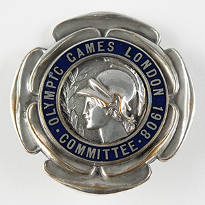 London 1908 Olympics Committee Badge