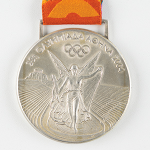Athens 2004 Summer Olympics Silver Winner's Medal