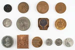 Winter Olympics Participation Medal Collection of (14)