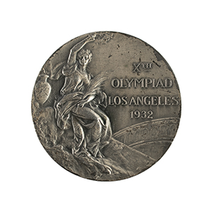 Los Angeles 1932 Summer Olympics Silver Winner's Medal