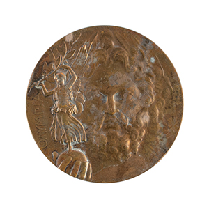 Athens 1896 Olympics Bronze Winner's Medal