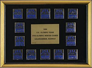 Lillehammer 1994 Winter Olympics Team USA Pin Set