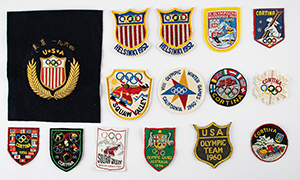 Tug Wilson's Olympic and Pan American Games Patch Collection