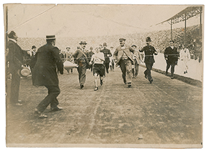 Tug Wilson's London 1908 Olympics Marathon Photograph