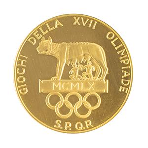 Tug Wilson's Rome 1960 Summer Olympics Gold Olympiade Medal