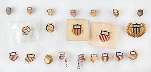 Tug Wilson's Team USA Olympic Pin Collection