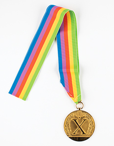 Indianapolis 1987 Pan American Games Winner's Medals