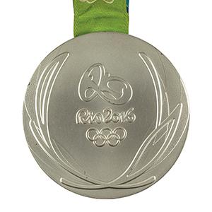 Rio 2016 Summer Olympics Silver Winner's Medal