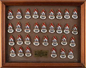 Atlanta 1996 Summer Olympics Pin Collection