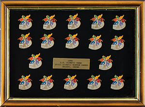 Nagano 1998 Winter Olympics Pin Collection