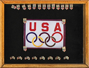Team USA Olympic Pin Collection