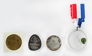 Summer Olympics Group of (4) Medals